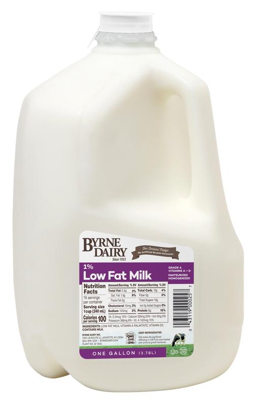 1% Milk Gallons
